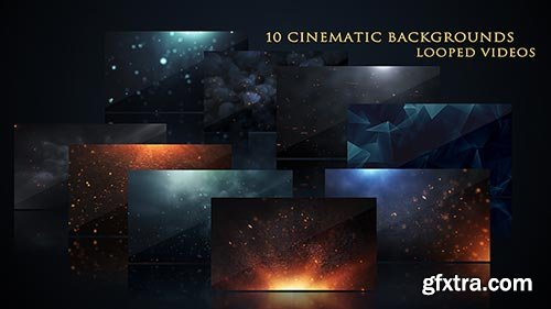Videohive - Cinematic Background Pack - 17444843
