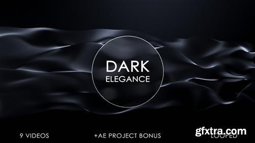 Videohive - Dark Elegant Motion Backgrounds - 18565161