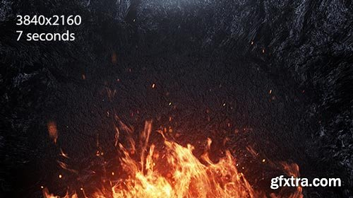 Videohive - Fire - Cinematic Background - 19085184