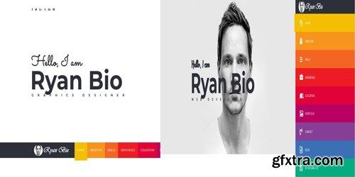 CodeSter - Bio v1.0 - Portfolio And Resume Template - 7390