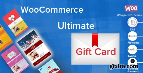 CodeCanyon - WooCommerce Ultimate Gift Card v2.4.8 - 19191057