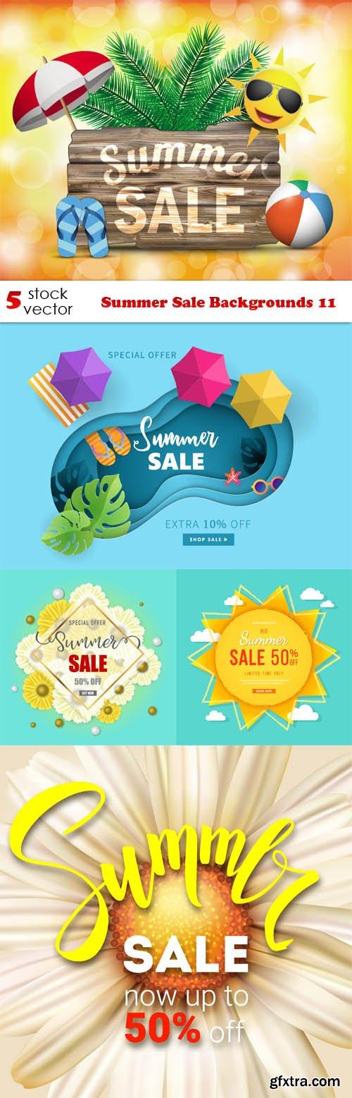 Vectors - Summer Sale Backgrounds 11