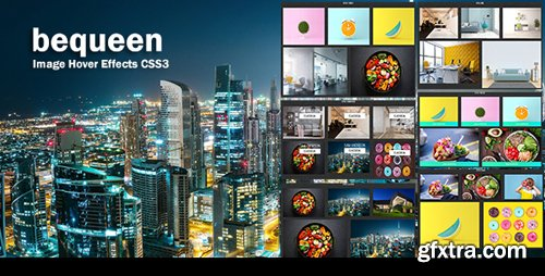 CodeCanyon - bequeen v1.0 - CSS3 Image Hover Effects - 22055430