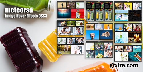 CodeCanyon - meteorsa v1.0 - CSS3 Image Hover Effects - 22161969