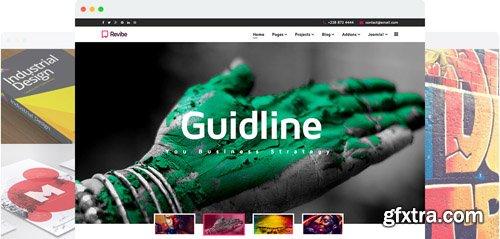JoomShaper - Revibe v1.9 - Multipurpose Creative Joomla Template