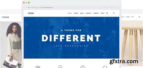 JoomShaper - Tixon v2.2 - Multi-purpose Business, Corporate & E-commerce Joomla Template