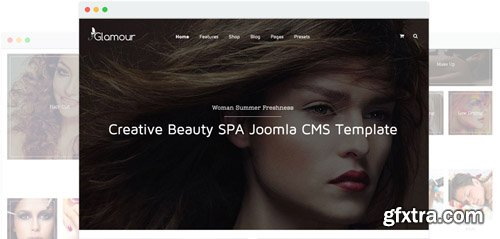JoomShaper - Glamour v1.8 - Fashion & Beauty Joomla Template