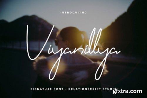 Viyanillya Font