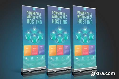Wordpress Hosting Roll Up Banner