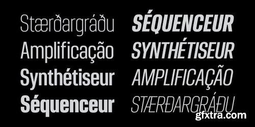 Ordax Font Family - 8 Fonts