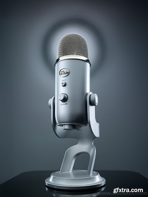 Alex Koloskov - Blue Yeti Microphone Shot - Behind the Scenes