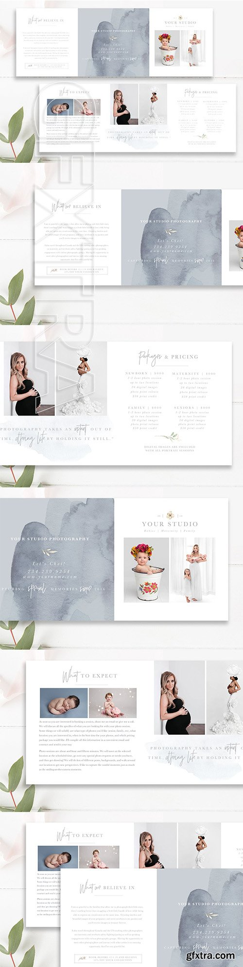 CreativeMarket - Photography Trifold Brochure 2685630