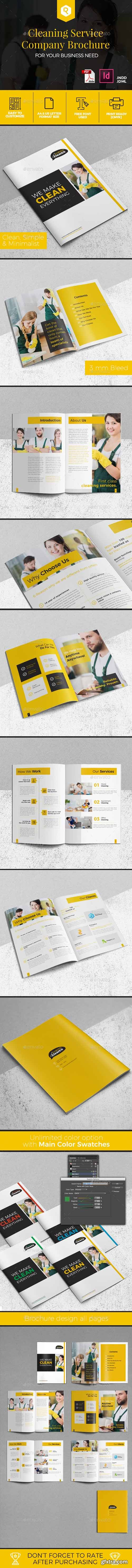 Cleaning Service Company Brochure 19578071