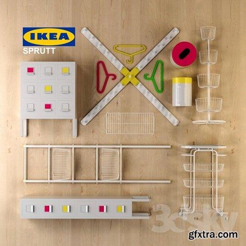 SPRUTT IKEA 3d Model
