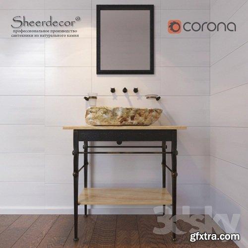 Sheerdecor bath set