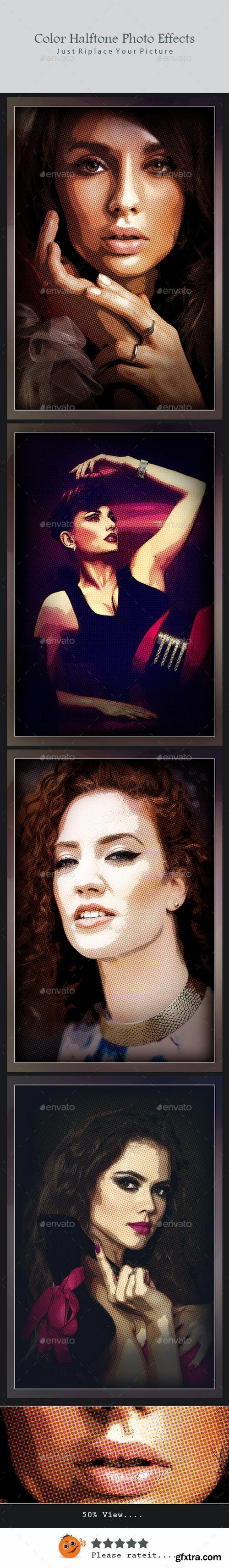 Graphicriver - 21912724 Color Halftone Photo Effects