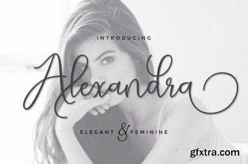 Alexsandra Script Font