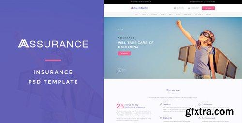 ThemeForest - Assurance v1.0 - Insurance PSD Template - 15674104