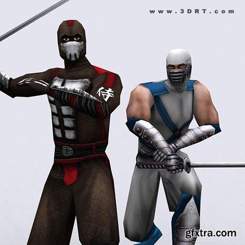 3DRT - Ninjas Pack