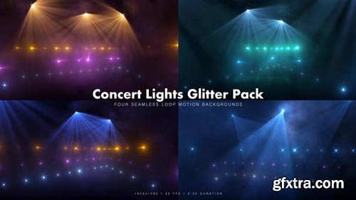 Videohive - Concert Lights Glitter Pack 6 - 18927690
