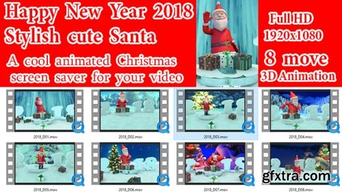 Videohive - Christmas Greetings New Year 2018 - 21089827