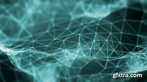 Videohive - Plexus Surface Background Looped - 21533812