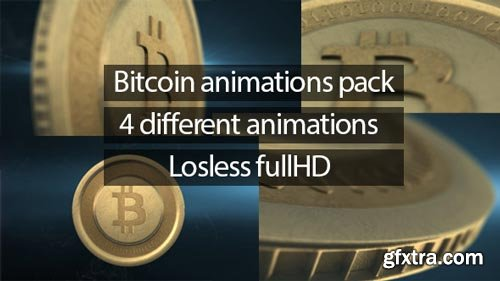 Videohive - Bitcoin Animations Pack - 6506726