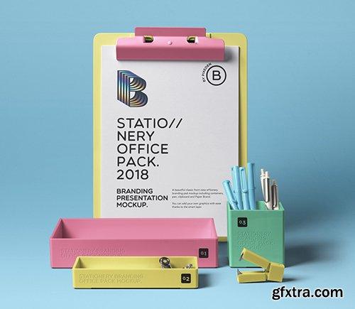 Psd Stationery Office Pack Mockup