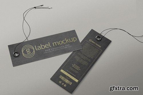 Hanging Tag Mockups