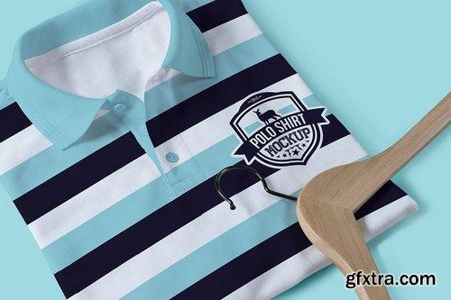 Polo T-Shirt Design Mockups