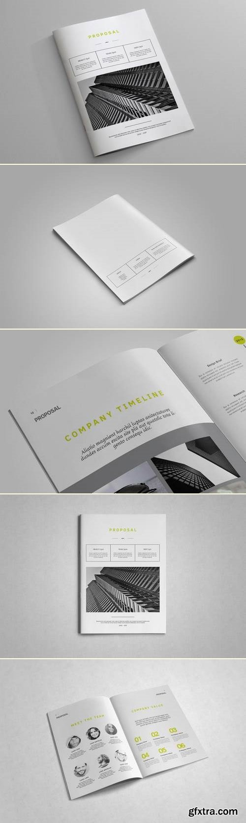 Indesign business proposal template vector photoshop psdafter indesign business proposal template flashek Images