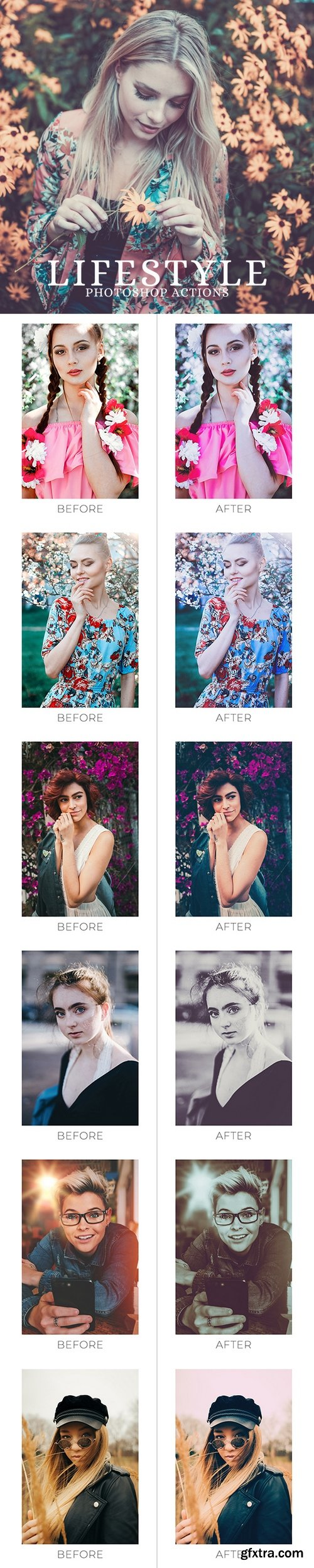 Graphicriver - 25 Lifestyle Photoshop Actions 22086776