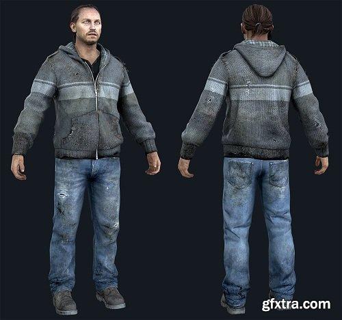 Robert (Arms Dealer) 3D Model