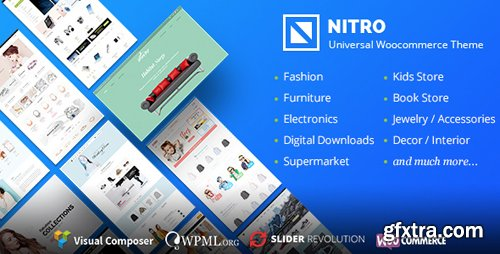 ThemeForest - Nitro v1.6.3 - Universal WooCommerce Theme from ecommerce experts - 15761106 - NULLED