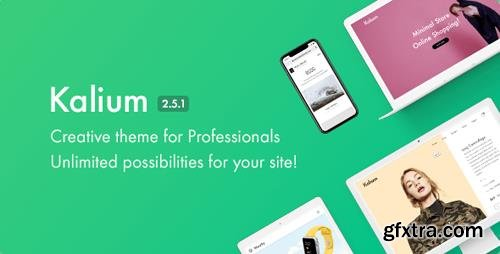 ThemeForest - Kalium v2.5.1 - Creative Theme for Professionals - 10860525 - NULLED