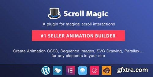 CodeCanyon - Scroll Magic Wordpress v3.3.1.3 - Scrolling Animation Builder Plugin - 19418234