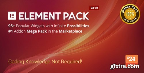 CodeCanyon - Element Pack v2.4.1 - Addon for Elementor Page Builder WordPress Plugin - 21177318