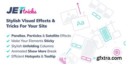 CodeCanyon - JetTricks v1.1.0 - Visual Effects Addon for Elementor - 21997850