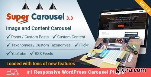 CodeCanyon - Super Carousel v3.3 - Responsive Wordpress Plugin - 4505016