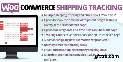 CodeCanyon - WooCommerce Shipping Tracking v17.4 - 11363158