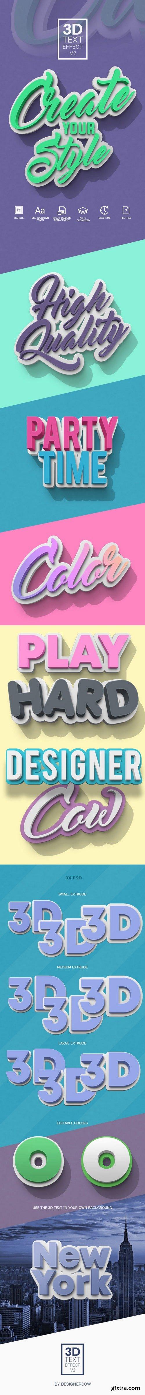 Graphicriver - 3D Text Effect V2 21584260