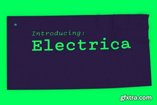 Electrica Font Family