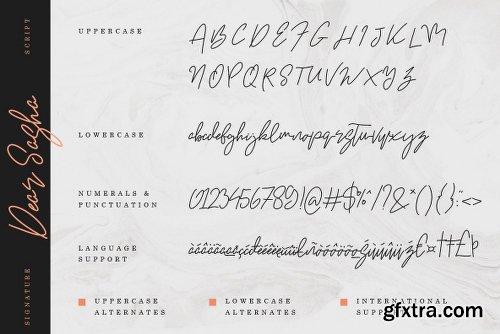 Dear Sasha Font Family - 2 Fonts