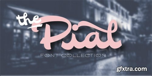 Pial Family - 6 Fonts