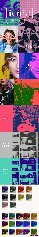 Halftone Mono & Duo Colors