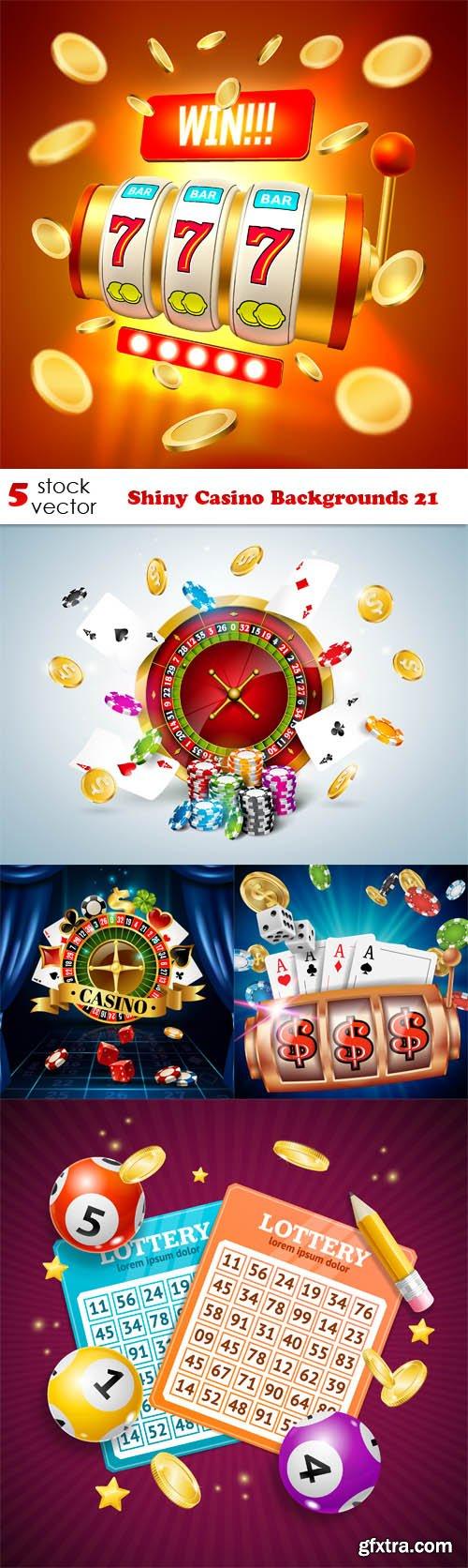 Vectors - Shiny Casino Backgrounds 21