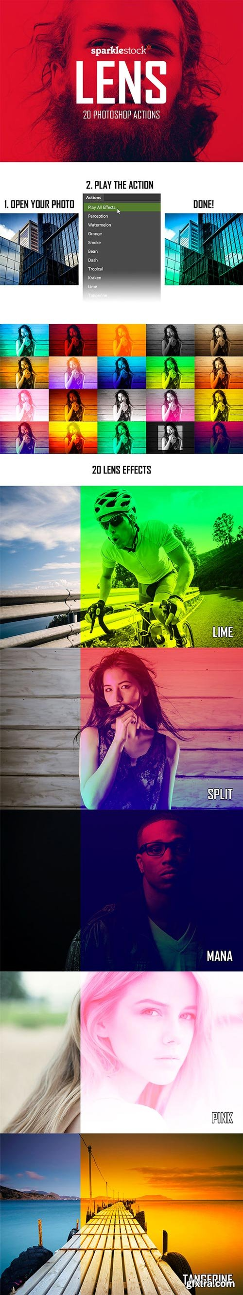 GraphicRiver - Lens - 20 Vibrant Effects - 15660332
