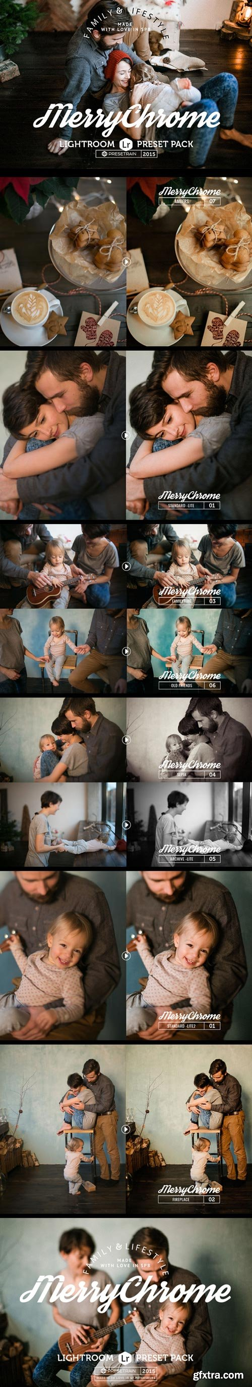 GraphicRiver - Merrychrome Lightroom Preset Pack - 16121692