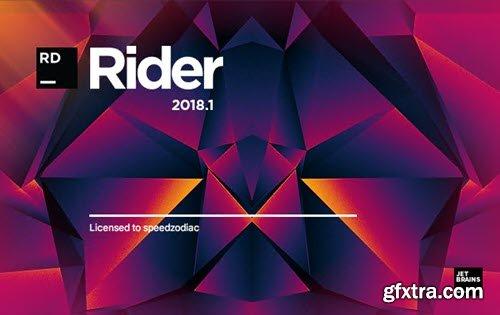 JetBrains Rider 2018.1.3 macOS