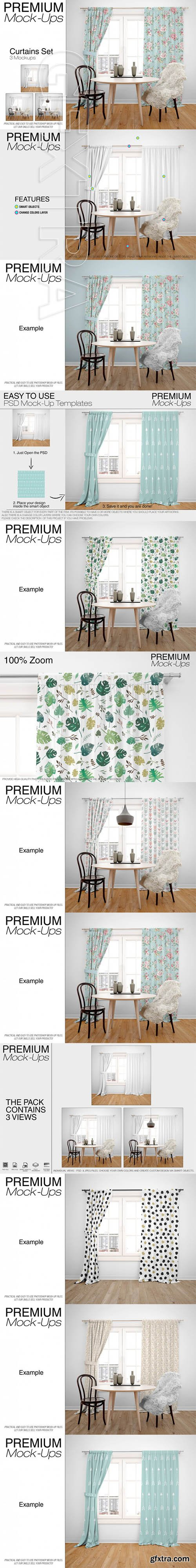Curtains Mockup Pack 1